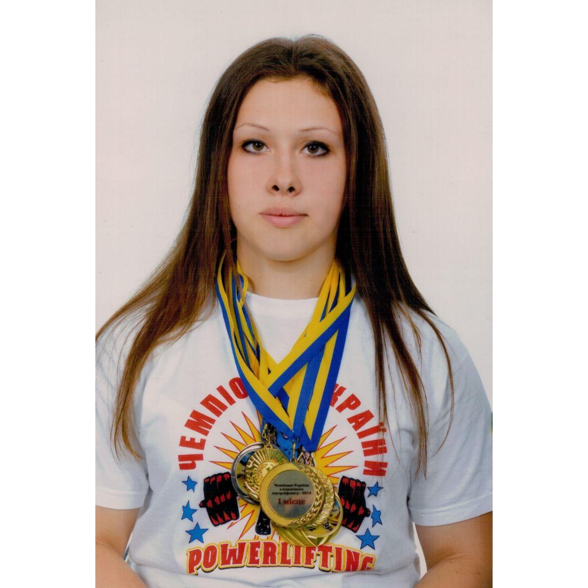 Миргородська спортсменка стала дворазовою чемпіонкою України з пауерліфтингу