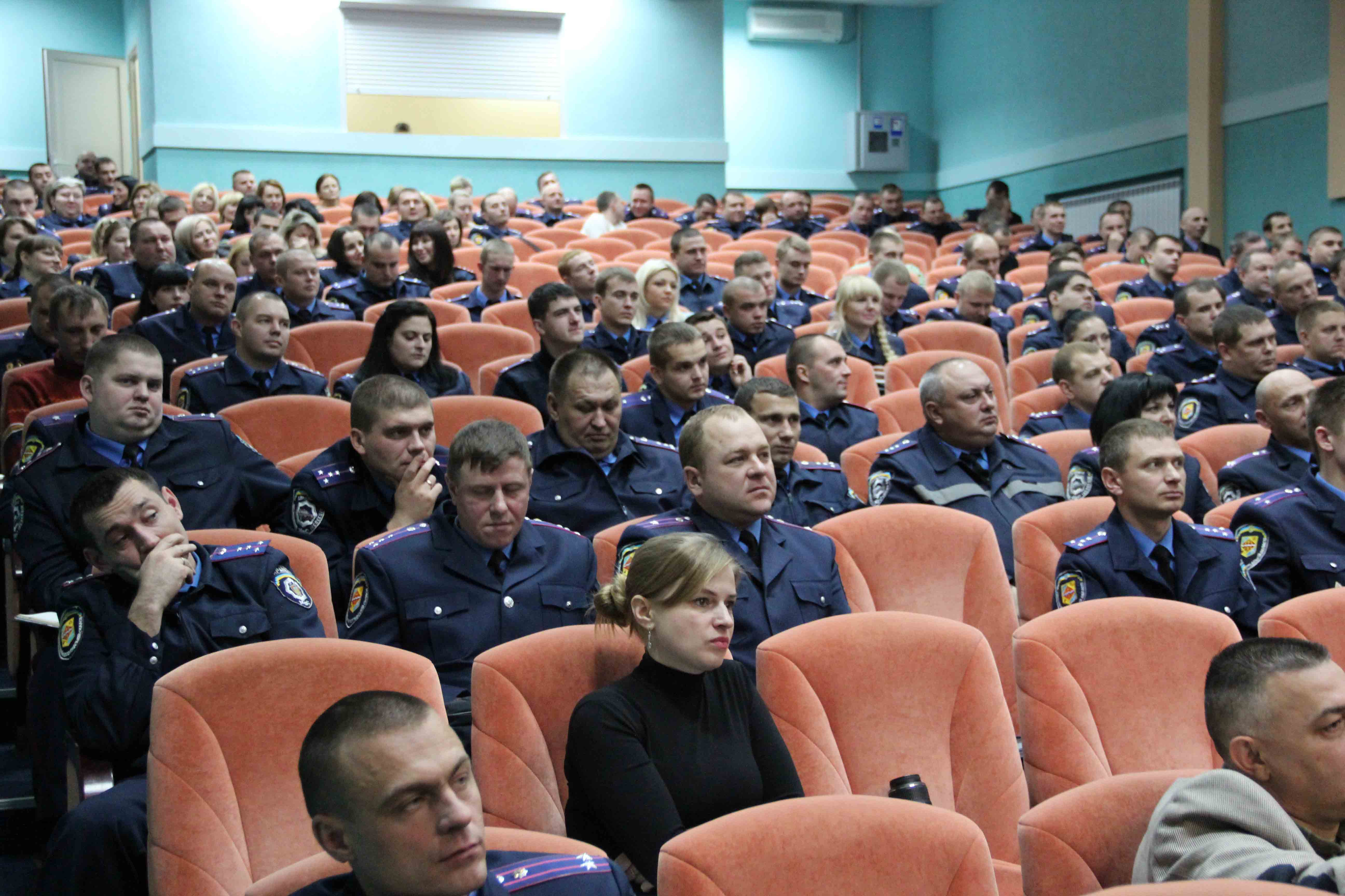 Експерти по реформі міліції відвідали Полтаву і розповіли про литовський досвід