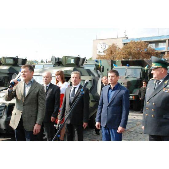 КрАЗ передав для української армії 23 автомобілі власного виробництва